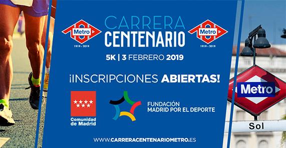 """""""Carrera Centenario"""" Metro de Madrid"""