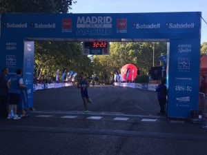 "Carrera ""Madrid corre por Madrid 2017"""