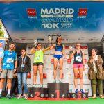 "Podium femenino ""Madrid Corre por Madrid"""