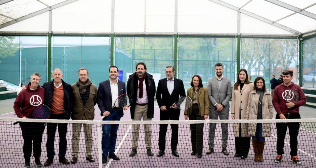 La FMxD, la Federación de Tenis de Madrid y ARRMI firman un convenio de colaboración