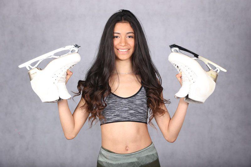 """Valentina Matos: """"Madrid es una de las mejores provincias para empezar a patinar"""""""