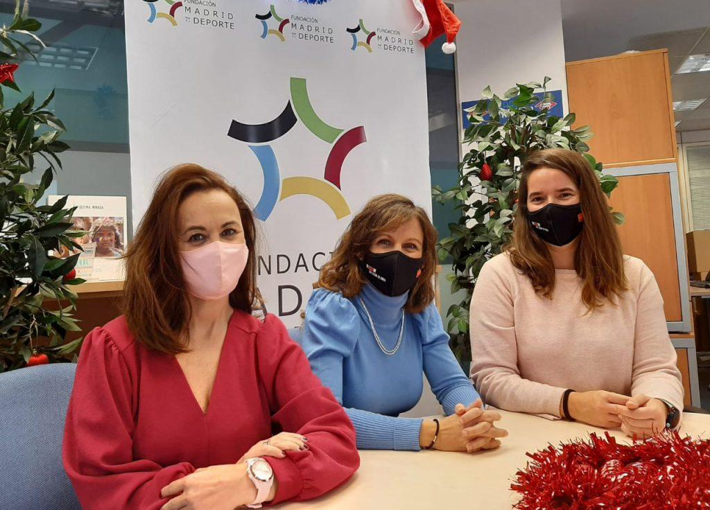 ¡Felices fiestas de parte del equipo de la Fundación Madrid por el Deporte!