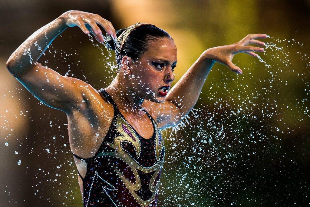 Hablamos de natación artística con Sara Saldaña