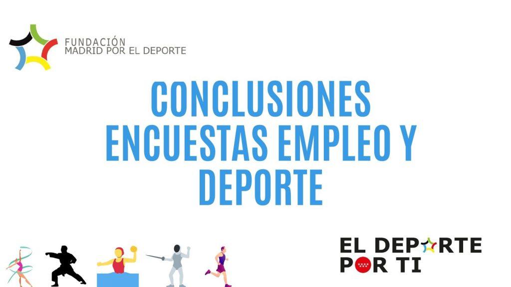 Empleo y Deporte Fundación Madrid por el Deporte