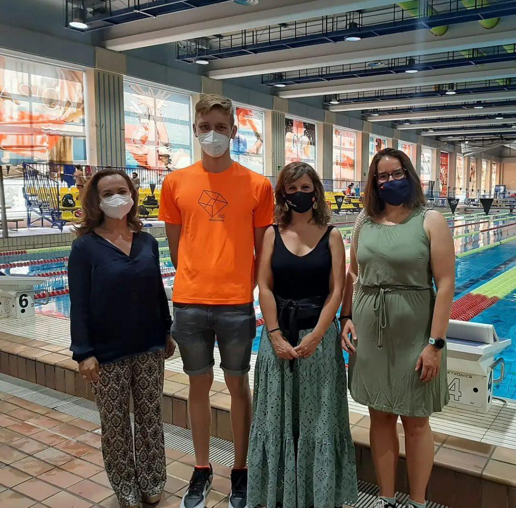 Despedimos a los deportistas olímpicos antes de su viaje a Tokio 2020